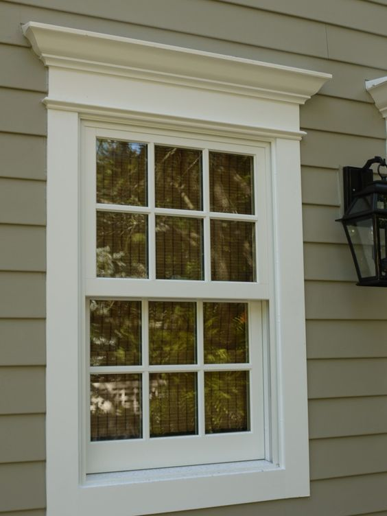 Best 25 white exterior houses ideas on pinterest white for Contemporary exterior window trim