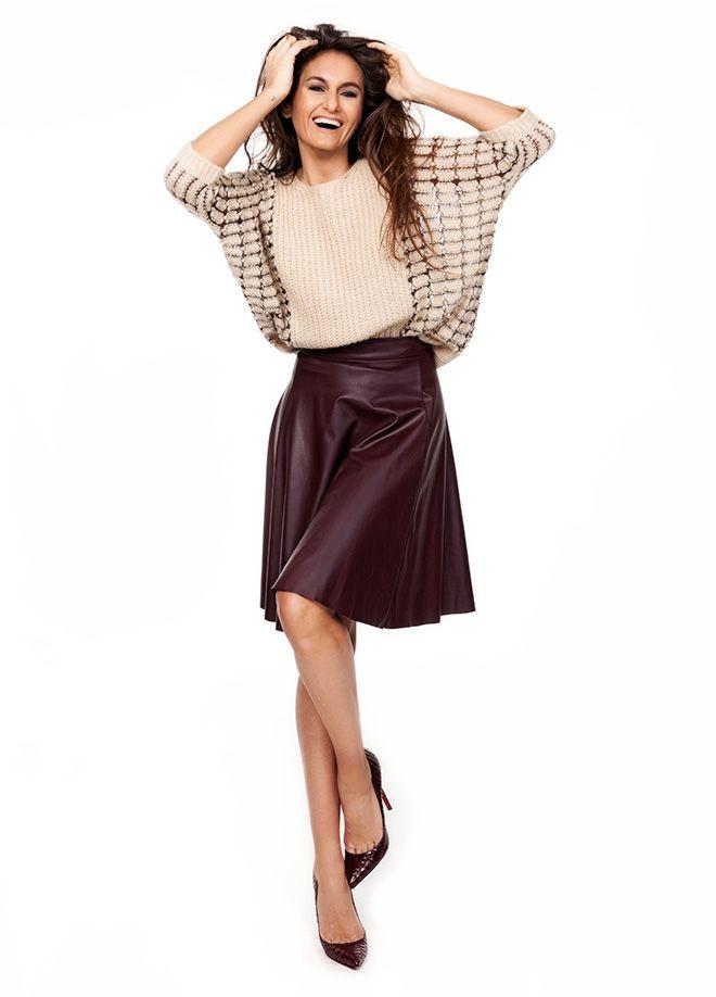 VolumeX with Eda Taşpınar Kazak Markafoni'de 79,90 TL yerine 44,99 TL! Satın almak için: http://www.markafoni.com/product/5707206/ #moda #edataspinar #siyah #kirmizi #yilbasi #stil #trend #modaikonu #look #fashion #style #stylish #celebrity #black #red #shoes #accessories #dress