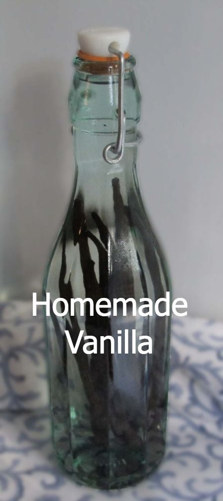 Easiest ever way to save $ & up your baking game - homemade vanilla extract.