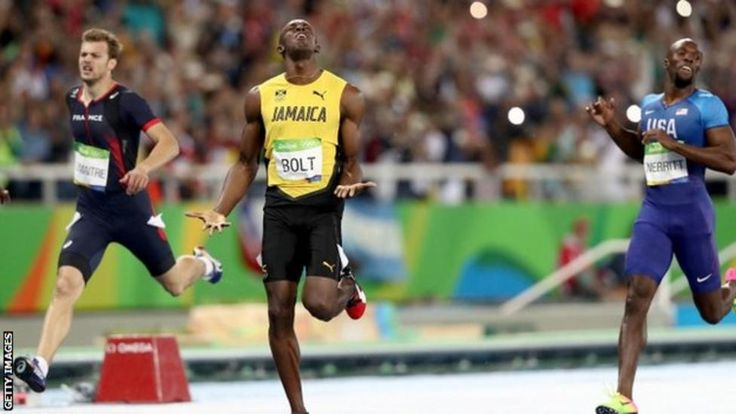 Bolt, who won the 100m title on day 10 of the Games in Brazil, once again dominated a 200m Olympic final.  He has now won the Olympic sprint double three times, having repeated his exploits in 2008 and 2012.