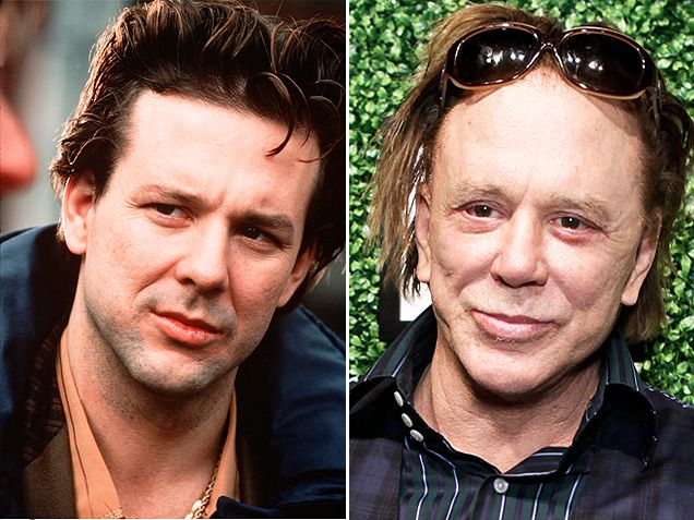 Mickey RourkeTime, They R, Today, Mickey Rourke, Famous Guys, Unrecogniz, Celebrities Transformers, The Roller Coasters