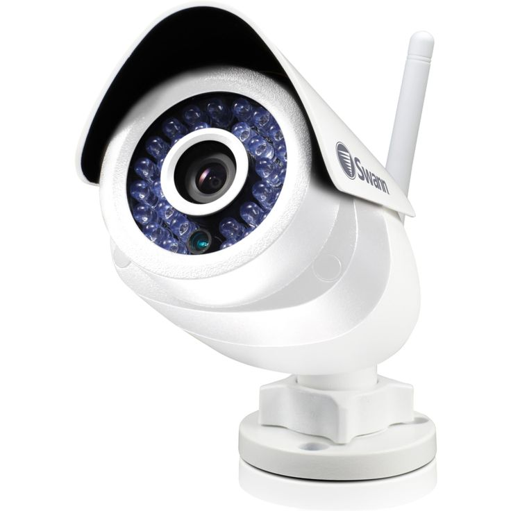 how to set up swann security camera network