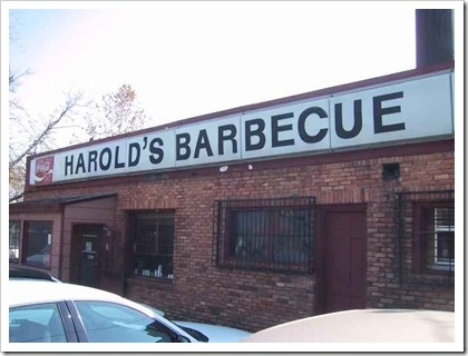 Harold S Bbq Atlanta Ga A Real Insution In Been Around Forever The Owner Would Bring Lunch To Us At Crawford Long Hospital When She