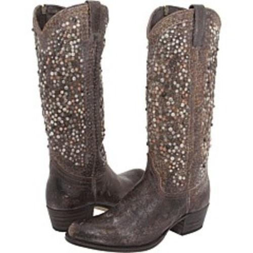 All rhinestone #cowgirl boots