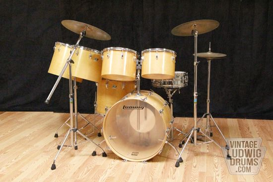 Buy Vintage Ludwig Drums | Ludwig 70's drum kits for sale