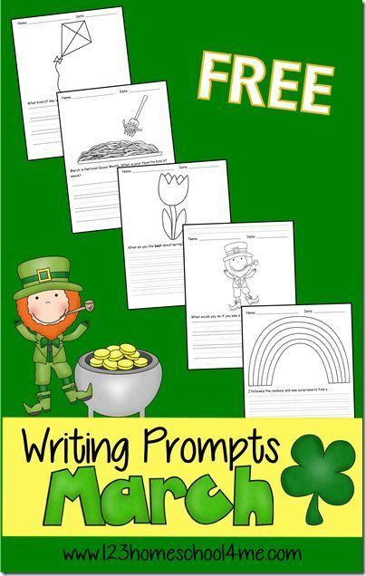 Ideas creative writing first grade