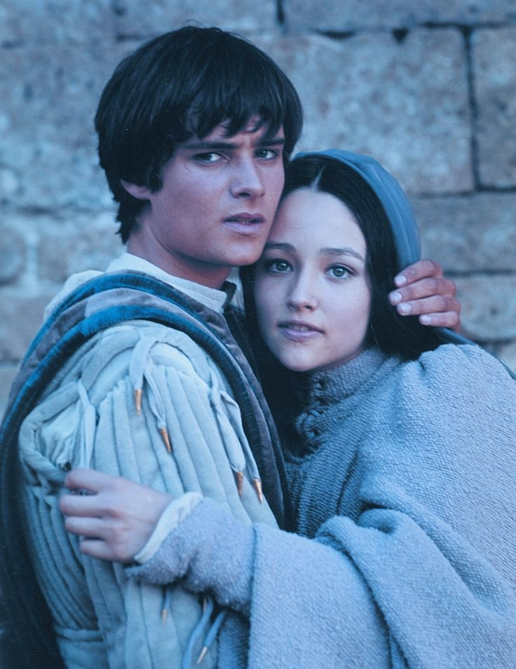 """Romeo and Juliet"". Olivia Hussey, Leonard Whiting"