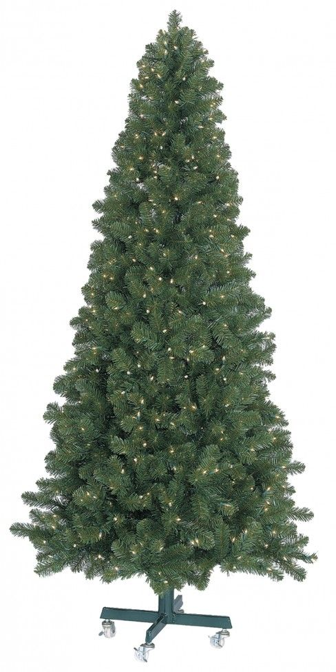GKI Bethlehem Olympia Pine Slim Pre Lit LED Christmas Tree ...