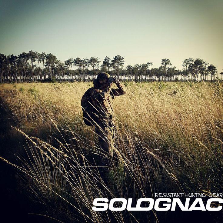 approche au chevreuil en tenue de camouflage solognac hunting chasse pinterest camouflage. Black Bedroom Furniture Sets. Home Design Ideas