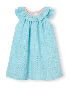 Broderie Frill Dress | Woolworths.co.za
