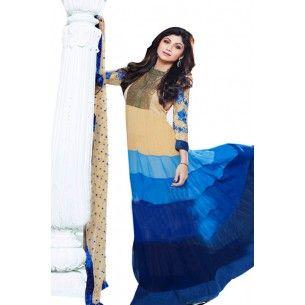http://www.valehri.com/blue-cream-georgette-shipa-shetty-anarkali-salwar-suit-1364