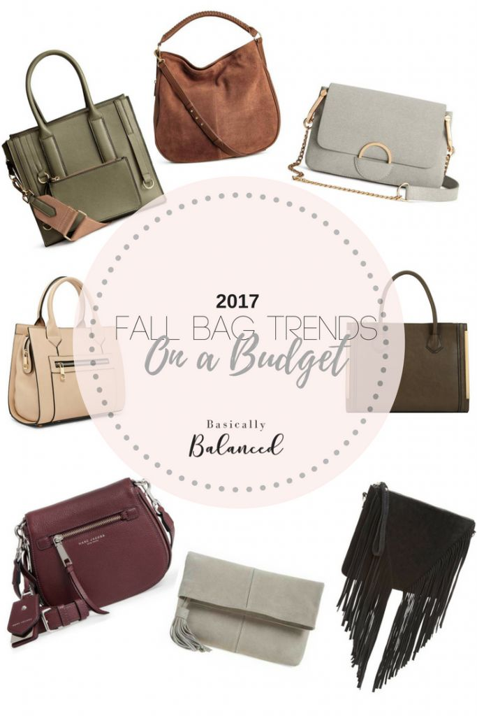Fall Bag Trends - Designer Looks for Every Budget!