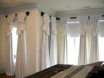Curtains Ideas curtain ideas for bedrooms : 17 Best ideas about Unique Window Treatments on Pinterest | Window ...
