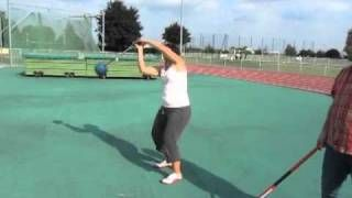 hammer throw tips playlist - YouTube