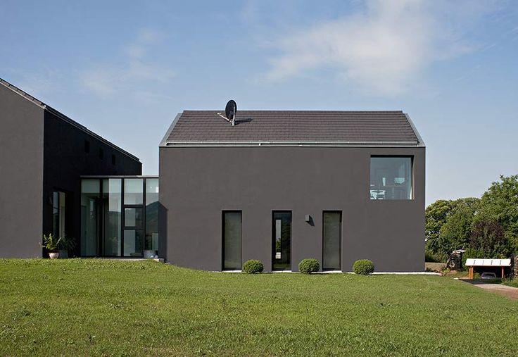 21 besten dfs29 bilder auf pinterest fassadenfarbe moderne h user und hausfassaden. Black Bedroom Furniture Sets. Home Design Ideas