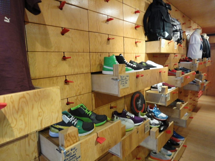 Puma pop up store, Shoreditch