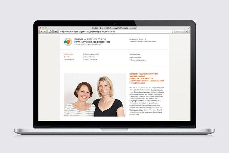 Kinderpsychotherapie Frömel & Steiner | #webdesign #UX #UI