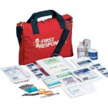 Basic First Responder First Aid Kit - SOFT CASE