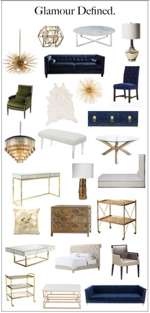 South Shore Decorating Blog Glamour Defined