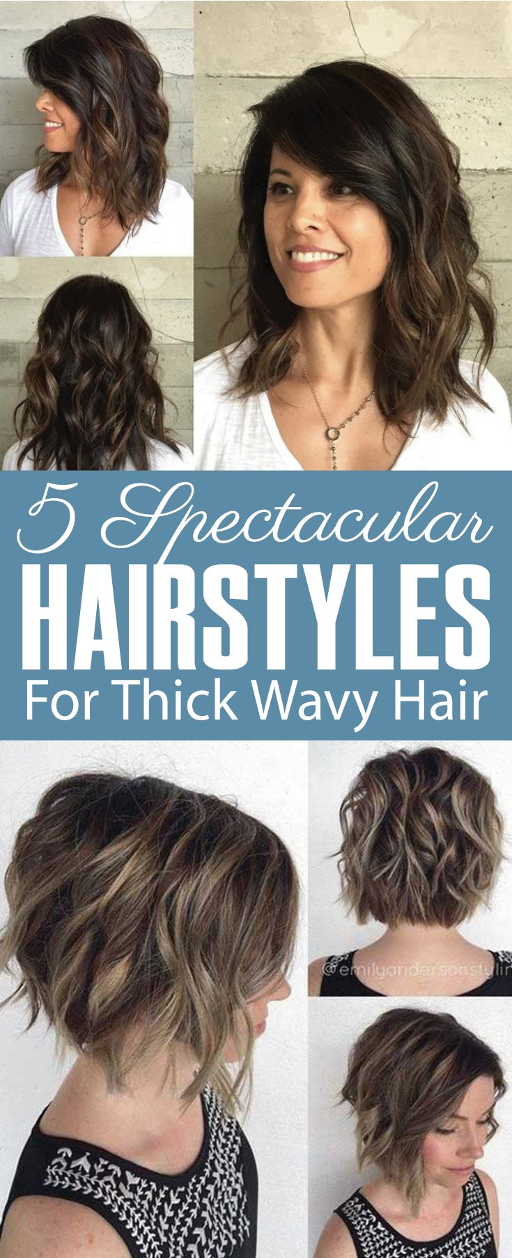 ways to style thick wavy hair best 25 thick hair ideas on 8568