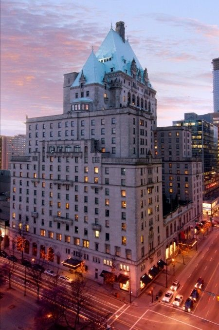 The majestic Fairmont Hotel Vancouver first opened its doors in 1939 (stayed)