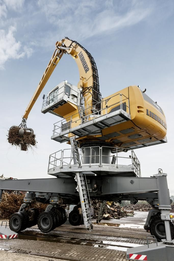 Overhead Cranes Queensland : Liebherr material handler lh m highrise cranes and