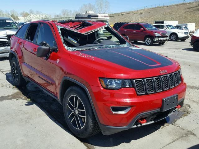 Salvage 2017 Jeep Grand Cherokee Trailhawk Car Jeep 2017 Jeep