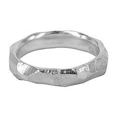 Medium explosion wedding ring in sterling silver by Gillian Hillman - $300   http://www.lordcoconut.com/shop/medium-explosion-ring/