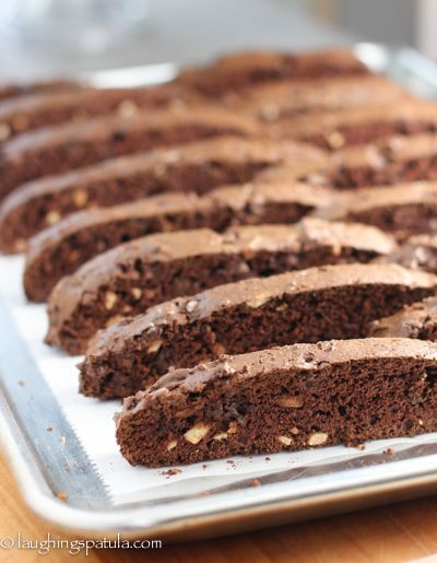 Double Chocolate Almond Biscotti - Easiest cookies you will ever make!