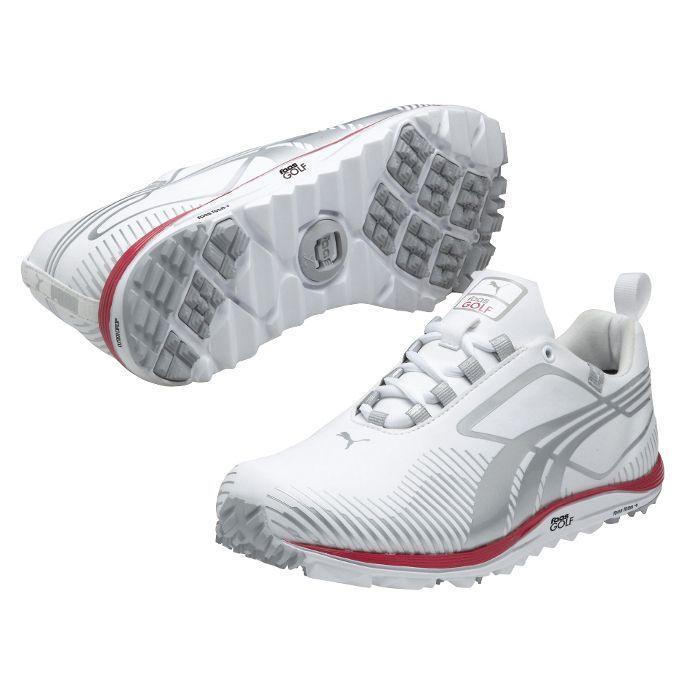 Puma Women's White Faas Lite Spikeless Golf Shoes (Ladies Shoe Size Medium)
