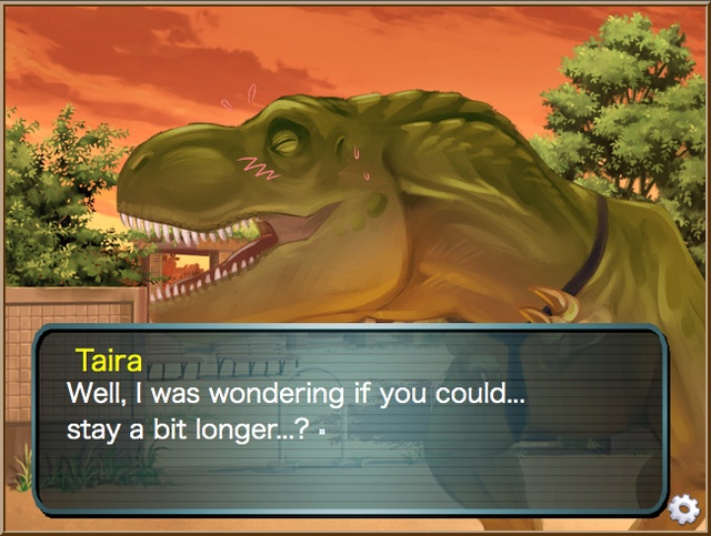 Bored With Your Pigeon Boyfriend? Try Jurassic Heart Dating Sim!
