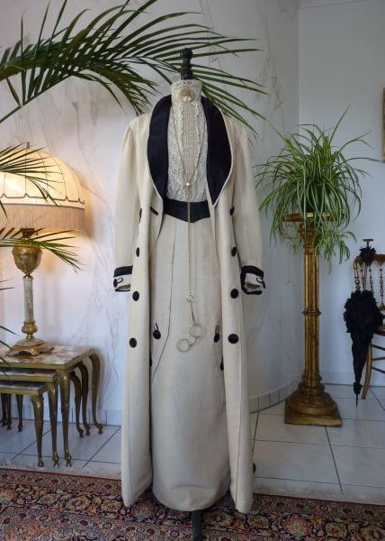Exceptional Edwardian Walking Suit, Antique Dress, Antique Gown, from antique-gown on Ruby Lane