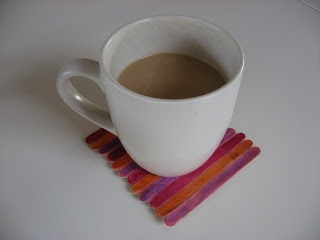 Popsicle Stick Crafts : Coasters - No Time For Flash Cards
