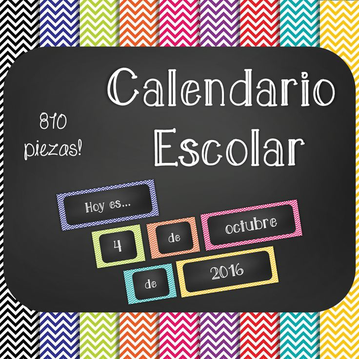 Brighten up your classroom with this creative calendar set! Download, print, laminate, and display. This kit includes complete calendar sets in all 9 colors of chevron: black, blue, green, orange, pink, purple, red, turquoise, and yellow. This digital download includes the following printable calendar elements: