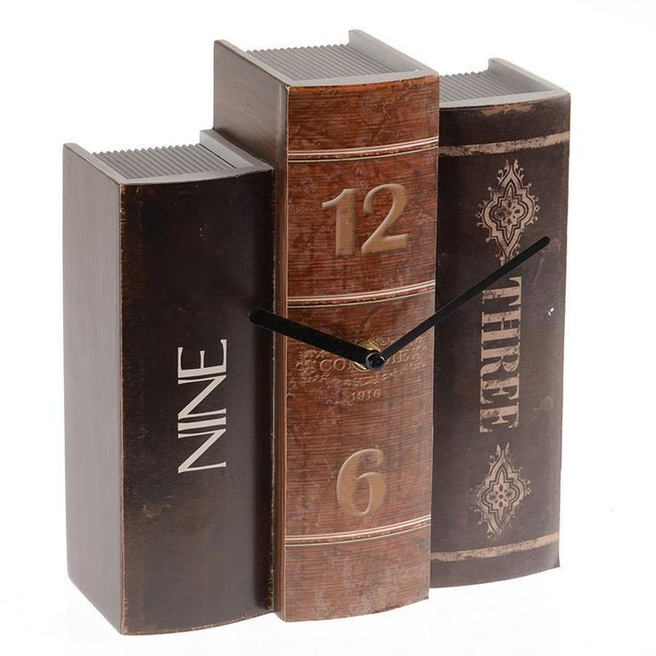 Fascinating wooden table clock! www.inart.com