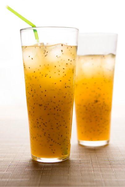 Easy Eats - Recipe: Mango Chia Limeade | Bebidas | Pinterest | Easy ...