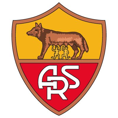 AS ROMA old logo 60s