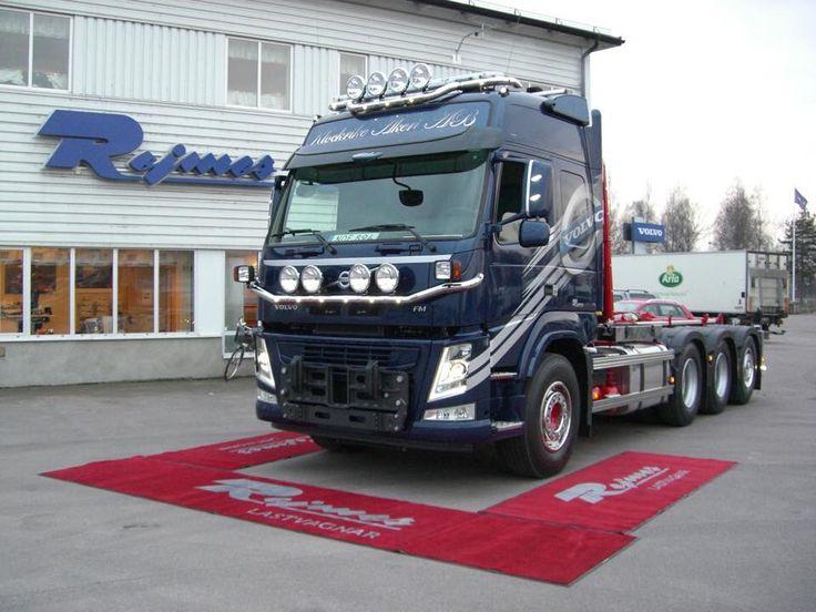 2014-12-02 FM500 plogbil med VDS och I-shift. 24 tons lastväxlare påbyggd av JOAB. Klockrike åkeri AB