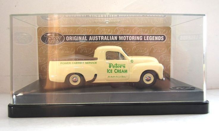 HOLDEN 50-2106 FX UTE 1951 Peters UTILITY model 1/43 original TRAX diecast Mint #TRAX #HOLDEN