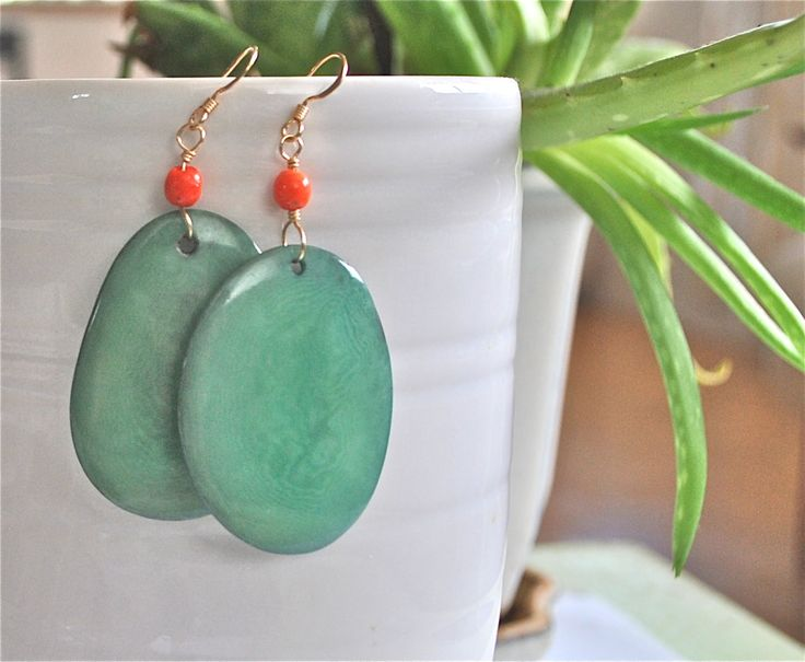 A personal favorite from my Etsy shop https://www.etsy.com/listing/248286174/tagua-earrings-tagua-jewelry-dangle