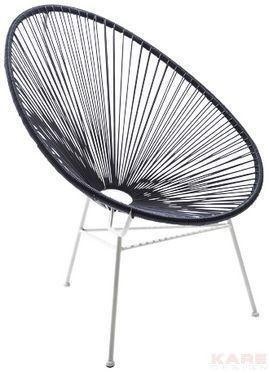 Deze Draadstoel Moet Het Worden! BalkonEinrichtung AußenmöbelArmlehnenGartenmöbelStühleSchwarz