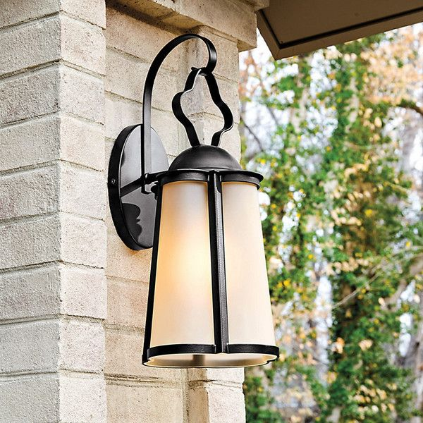 Large outdoor lanterns 25 pinterest ballard designs bexley outdoor sconce large 179 liked on polyvore featuring home mozeypictures Gallery