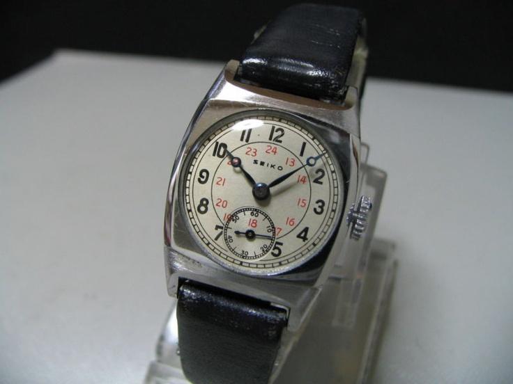 Vintage 1930's SEIKO mechanical watch [Type 9] Rare dial ...