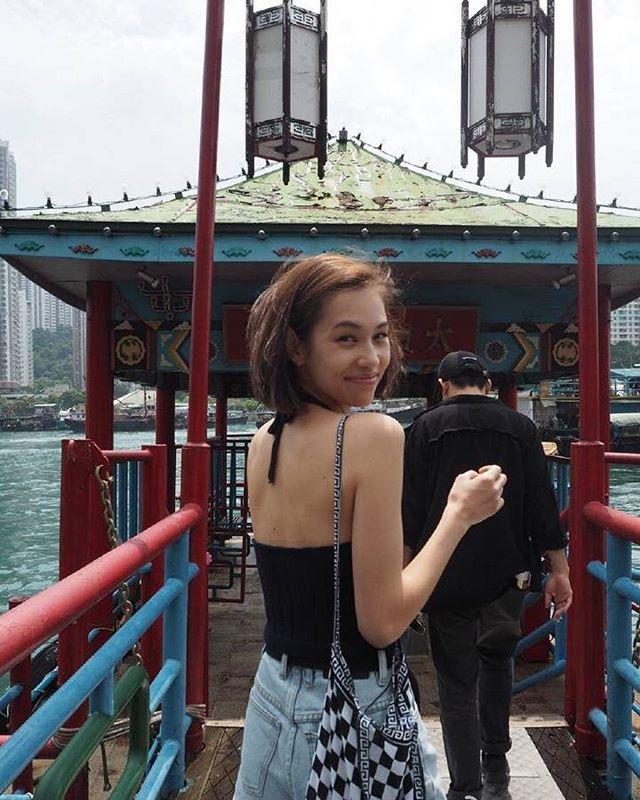 Pretty Kiko in Hongkong 😍 #kikomizuhara #kiko #mizuharakiko #水原希子 #teammizuharaweibo