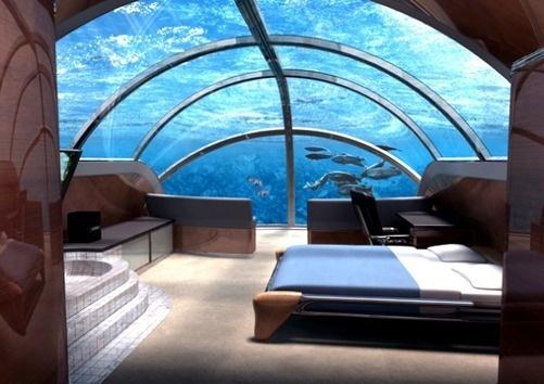 Un hôtel sous-marin : le Poséidon