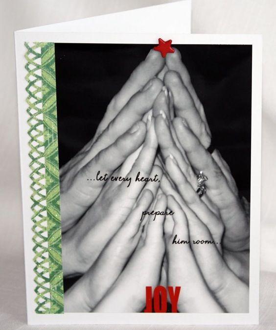 Cute Christmas card! Wanna do this for our Christmas card!