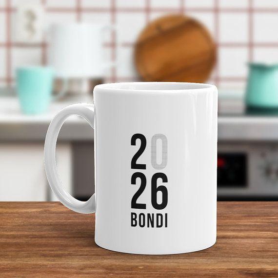 Personalised Suburb Coffee Mug  Would make a by Hatchesandmatches