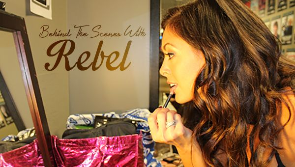 Follow TNA Knockout Rebel in a day behind the scenes at an Impact Wrestling live event.
