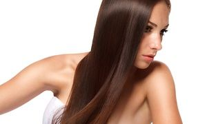 Scissor wielders chop hair into style while a Brazilian blow wave leaves hair smooth and frizz free