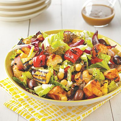 Grilled Chicken Salad #recipe